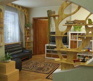 Vách ngăn di động giúp giải quyết vấn đề không gian nhà ở