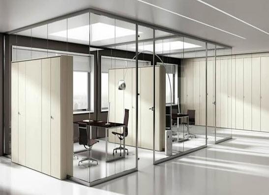 Vì sao vách ngăn kính di động dành cho văn phòng được ưa chuộng?