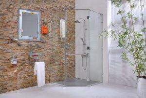 Cách làm sạch vách tắm kính dễ dàng, nhanh chóng