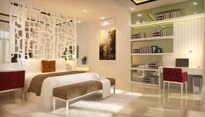 Hướng dẫn mở rộng không gian phòng ngủ bằng các kiểu vách ngăn