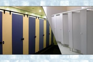 Tìm hiểu về các loại vách ngăn vệ sinh