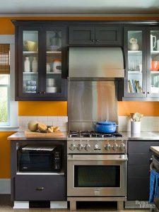 Tư vấn cải tạo bếp tồi tàn chật hẹp trở nên thoáng rộng, tiện nghi