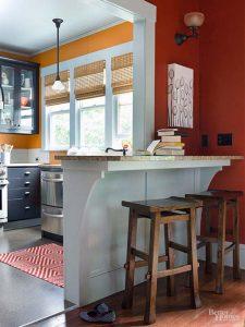 cải tạo căn bếp tồi tàn chật hẹp trở nên thoáng rộng