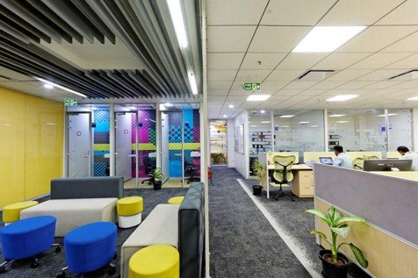 màu thích hợp cho văn phòng làm việc