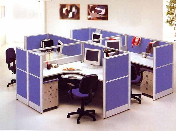 Lựa chọn vách ngăn văn phòng theo chất liệu