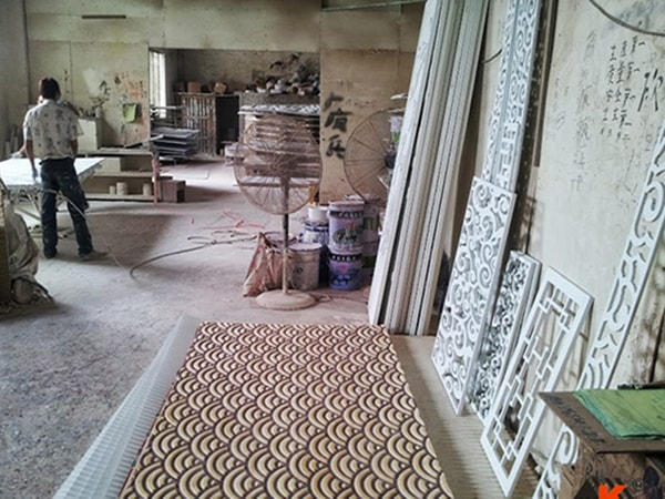 Quy trình sản xuất vách ngăn gỗ CNC