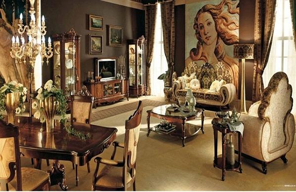 Thiết kế nội thất đẹp theo phong cách Châu Âu