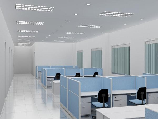 Cách phối màu vách ngăn và bàn làm việc cần năm một số nguyên tắc về màu sắc