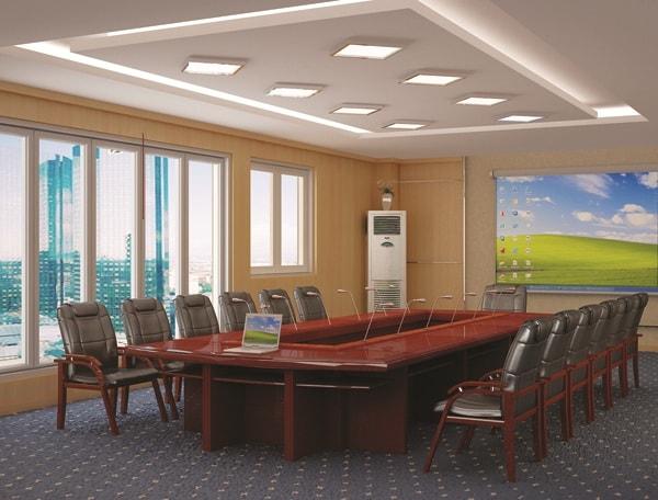 Bàn họp dài 3m thường phù hợp cho 10-12 người ngồi dự