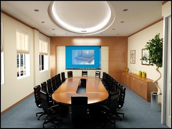 Bàn họp hình oval, bàn họp hình elip của Hòa Phát có nhiều ưu điểm nổi bật