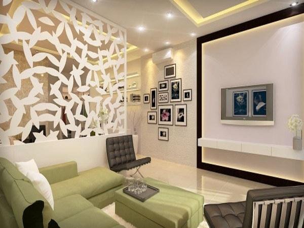 Những kiểu vách ngăn vừa đẹp vừa tiết kiệm diện tích phù hợp nhà hẹp