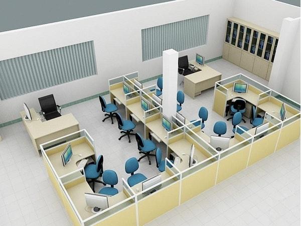Các tiêu chí cần có của một mẫu vách ngăn dành cho phòng làm việc