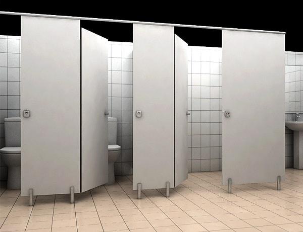 Các tiêu chí cần có của một mẫu vách ngăn dành cho nhà vệ sinh