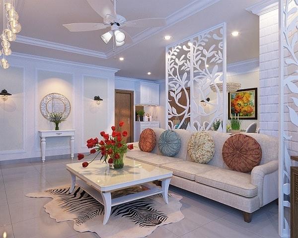 Những xu hướng vách ngăn phòng khách được ưa chuộng năm 2017