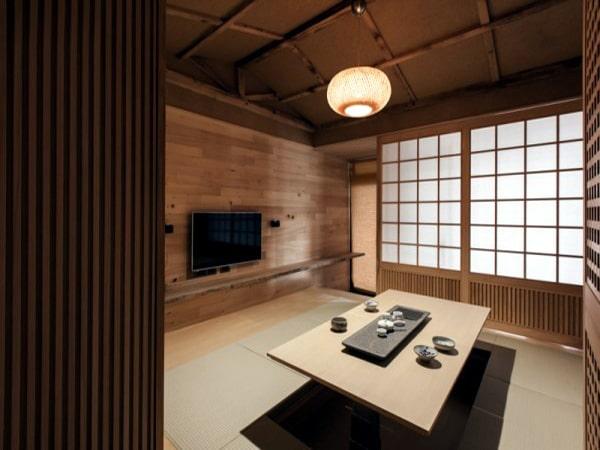 Phòng khách theo thiết kế Minimalism truyền thống của người Nhật