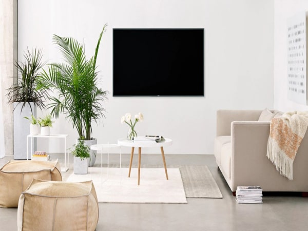 Đặt TV theo Minimalism