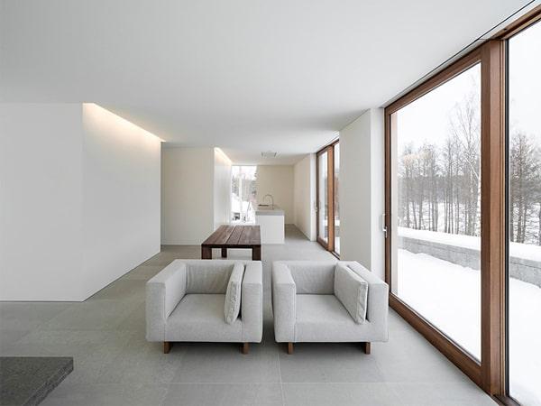 Một thiết kế phòng khách theo Minimalism