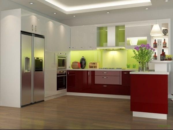 Kệ mở - Giải pháp lý tưởng dành cho căn bếp nhỏ