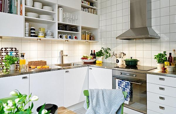 Kệ mở nhà bếp sự lưạ chọn hoàn hảo cho căn bếp nhỏ