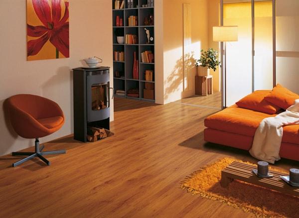 Sử dụng sàn gỗ ấm cúng tiện lợi