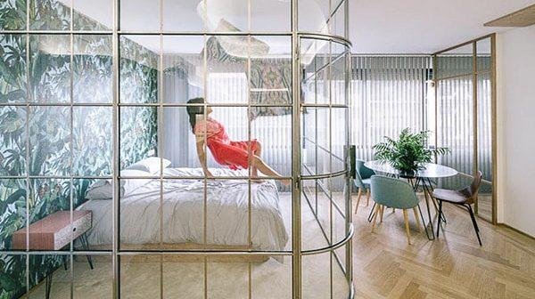 Các kiểu vách ngăn phòng ngủ được dùng phổ biến hiện nay