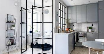 Xu hướng sử dụng vách ngăn trong bố trí nội thất nhà ở năm 2018
