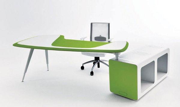 Hình dáng, màu sắc, kích thước của bàn làm việc cho nữ tuổi Bính Dần