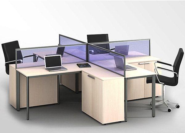 Sử dụng vách ngăn văn phòng hiệu quả