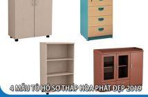 4 mẫu tủ hồ sơ thấp đẹp nhất Hòa Phát cho văn phòng 2019