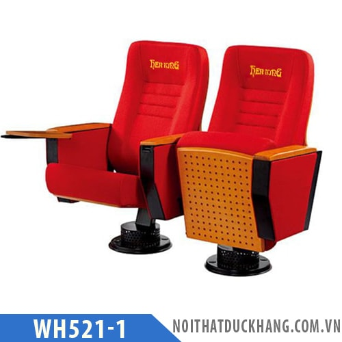Ghế hội trường nhập khẩu, chân trụ bám sànWH521-1